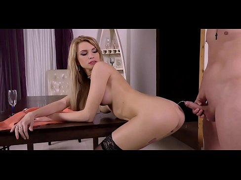 Frisky playgirl is pissing around before her lover fucks her