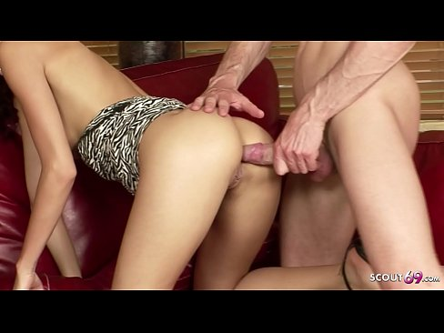 ANAL and DP GROUP SEX for Sabrina Rose and her Girlfriend