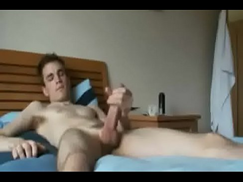 Horny boy knows how to work his dick - watch more at rawcams69.com