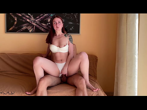 Cowgirl Spreads her Legs during Sex KleoModel