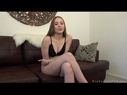 Naomi Blue Gags On Cock And Loves It Rough In Casting