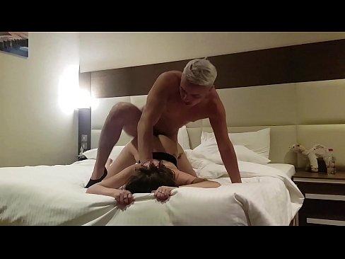 fucked a prostitute in a hotel ! hidden Cam (part 2) cum in mouth