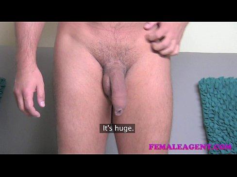 Female Agent Casting Big Cock