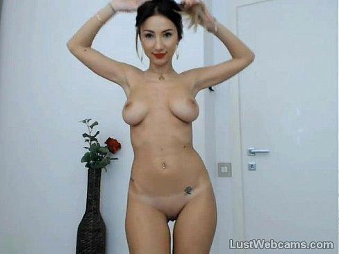 Cute babe Adanah teasing on webcam