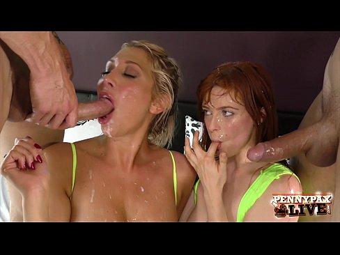 Huge Dick Double Penetration