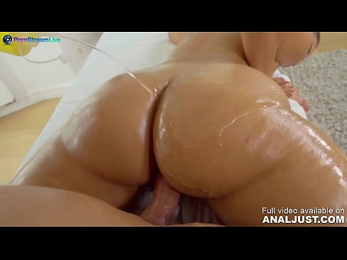 Only3x (Just Anal) brings you - Anal scene - Bootylicious Adreina De Luxe got her happy ending after massage by Just ANAL powered by Only3x