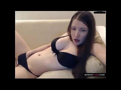 Girl Masturbating Under Panties