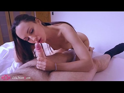Lilu Moon Suck and Hard Pussy Fuck Big Dick in the Morning