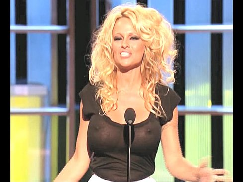 Pamela Anderson Busty In A See Thru Top Xvideos Com