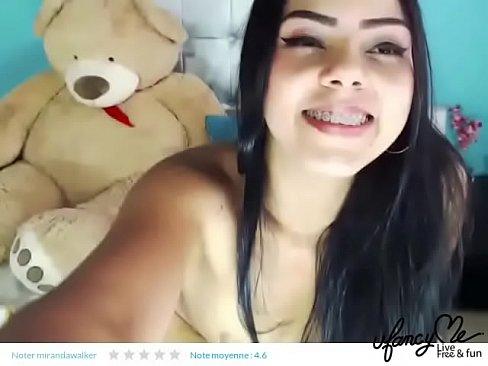 Sexy Latina Teen Masturbating And Cum With Hitachi Xvideos Com