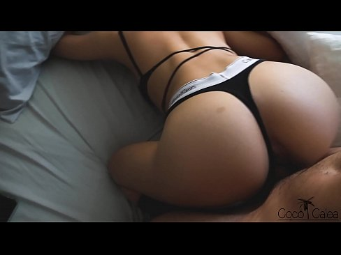 Teen in Hot Calvin Underwear Gets Interrupted While Packing Her Bags (POV)
