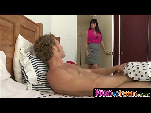 MILF takes advantage of son's girlfriend