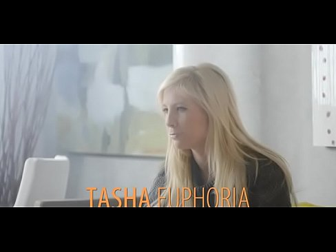 Naughty lady Tasha R. is sucking her fake penis