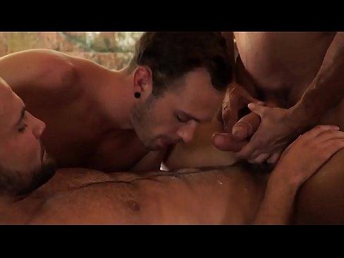 hot three gay men