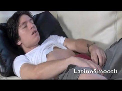 Sexy Twink Fabricio Jerks Off 1