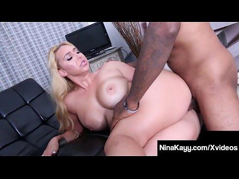 Dirty Dark Dicked Nina Kayy Bangs Big Black Cock Chauffeur!