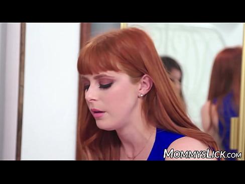 Lesbian Milf Seduces Redhead