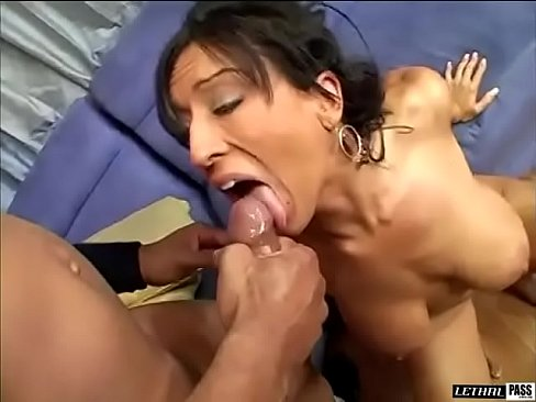 Ricki White gets plowed hard and deep by a big black cock