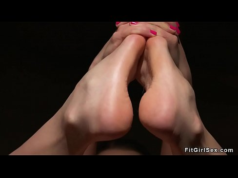 Lasbians fingering after yoga