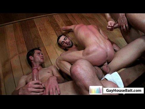 Hot Sauna Orgy