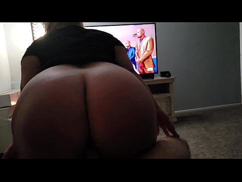 White Fat Ass Bouncing Dick