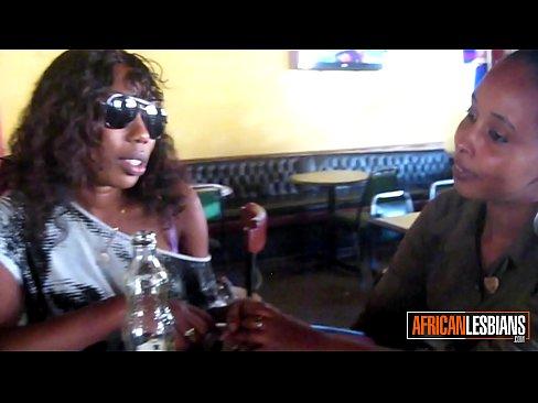 Two chubby black lesbian amateur whores