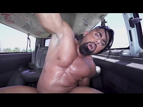 BAIT BUS - Jason Wolf Gets Baited To Fuck Steven Roman With Assistance From Mia Martinez