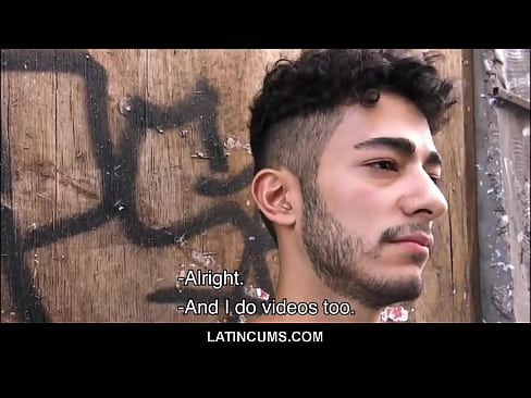 Young Amateur Latino Boy Bam Bam Fucked By Stranger For Money POV