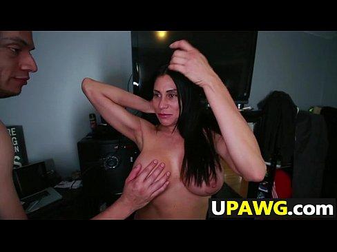 Big Tit Milf Blowjob Work