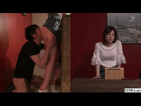 Japanese risky sex hold the moan clothing shop foreplay