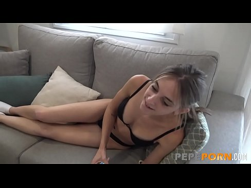 SURPRISE FUCK: Teen Anita gets impaled by Mike's shaft!