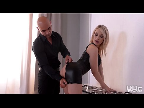 Spanking action and total submission make Chessie Kay's big round tits sway