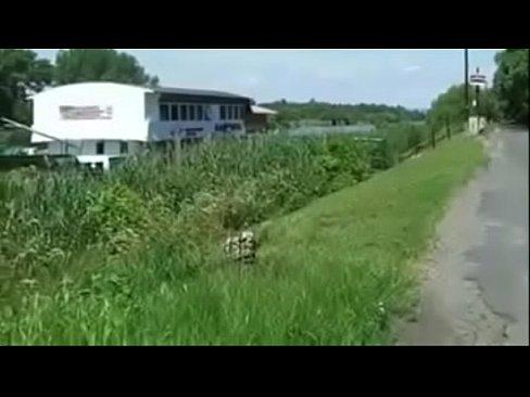 Magyar cigany csajt lerendezik