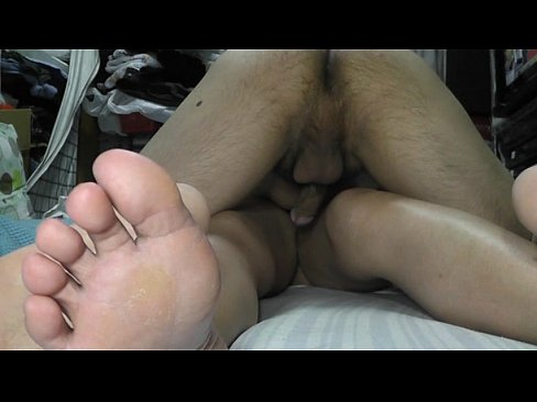 Taro and Noriko having sex.