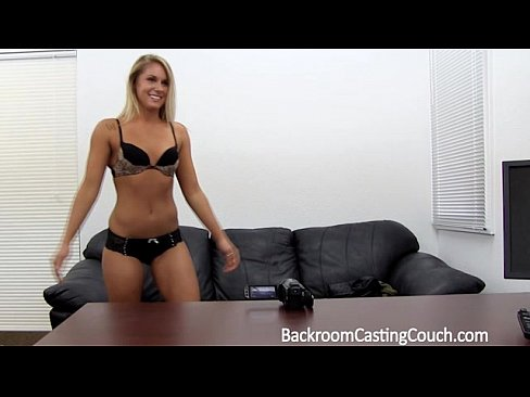 Hot Blonde Casting Couch