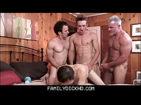 Twink Step Son Punish Family Fucked By Grandpa, Dad And Brother