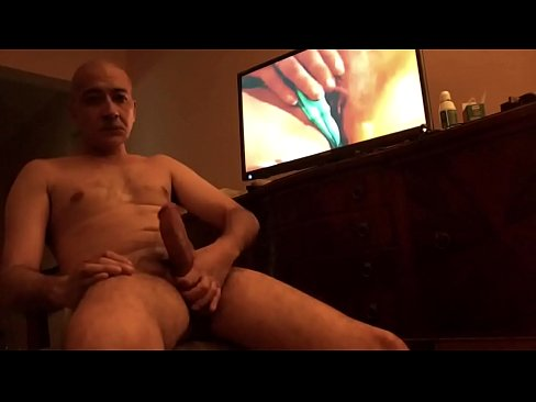 Old Man Jacking Off Solo