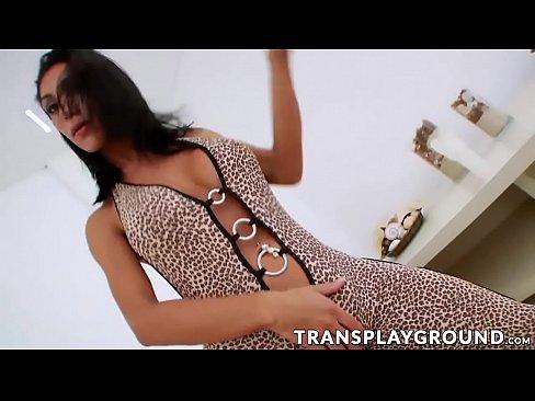 Big tits brunette Sabrina using sex toy for pleasure