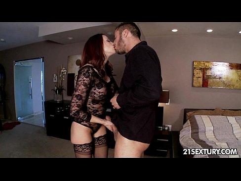 Exclusive hottie Chanel Preston's private little affair.