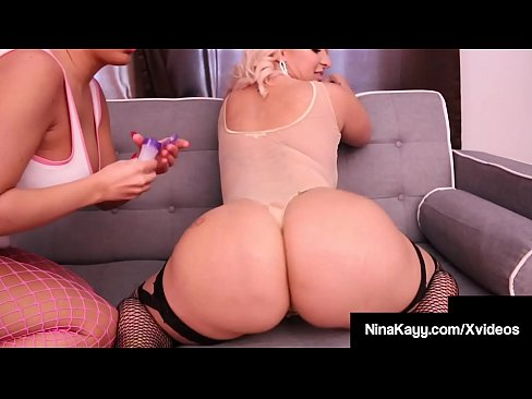 Big Booty Babes Nina Kayy & Richelle Ryan Grind That Pussy!