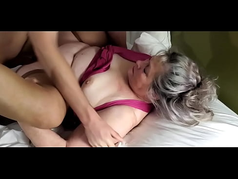 MILF Jucee Hotwife seduces stepson.
