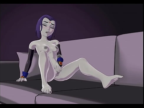 Teen Titan's Raven Jilling by Skuddbutt