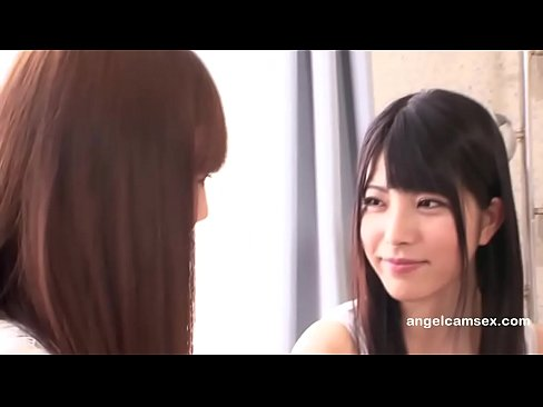 Beautiful young Japanese lesbians scissoring-angelcamsex.com