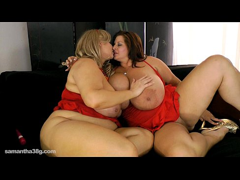 2 Big Tit MILFS Lick  Each Other Out