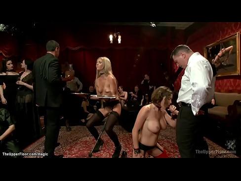 Beautiful pornstars anal bdsm party
