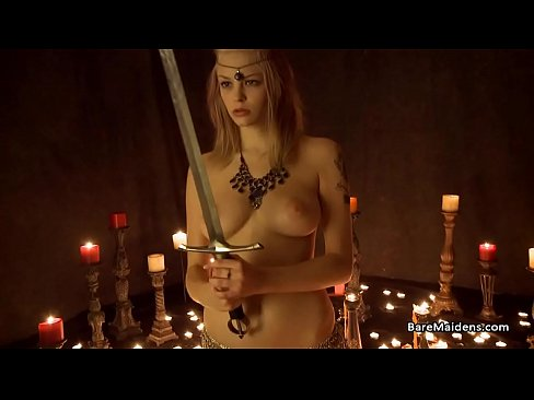 Naked witch and the sacred sword - Brea Daniels - BAREMAIDENS