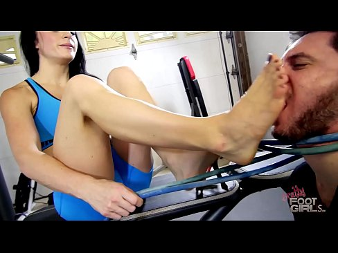 Goddess Cleo Foot gagging