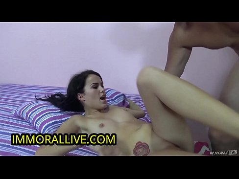 18 Year Old Megan Rain is Stunned by Her First Squirt!