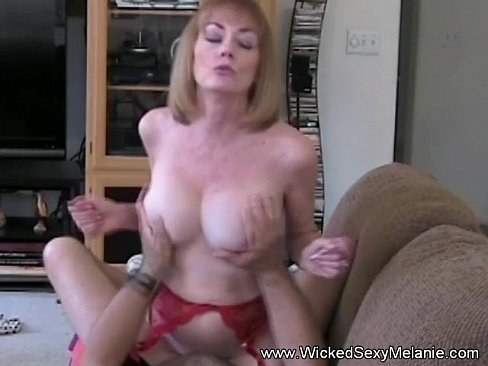 Step Mom Rides Sons Dick