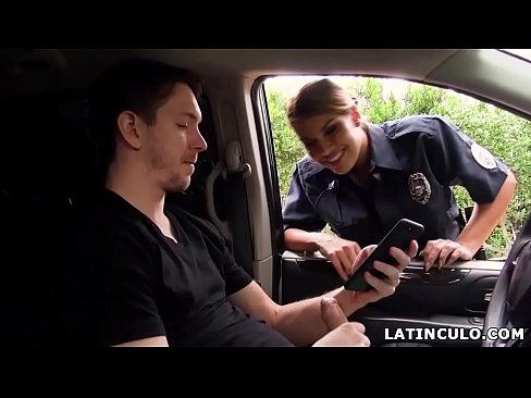 Masturbating car latina something